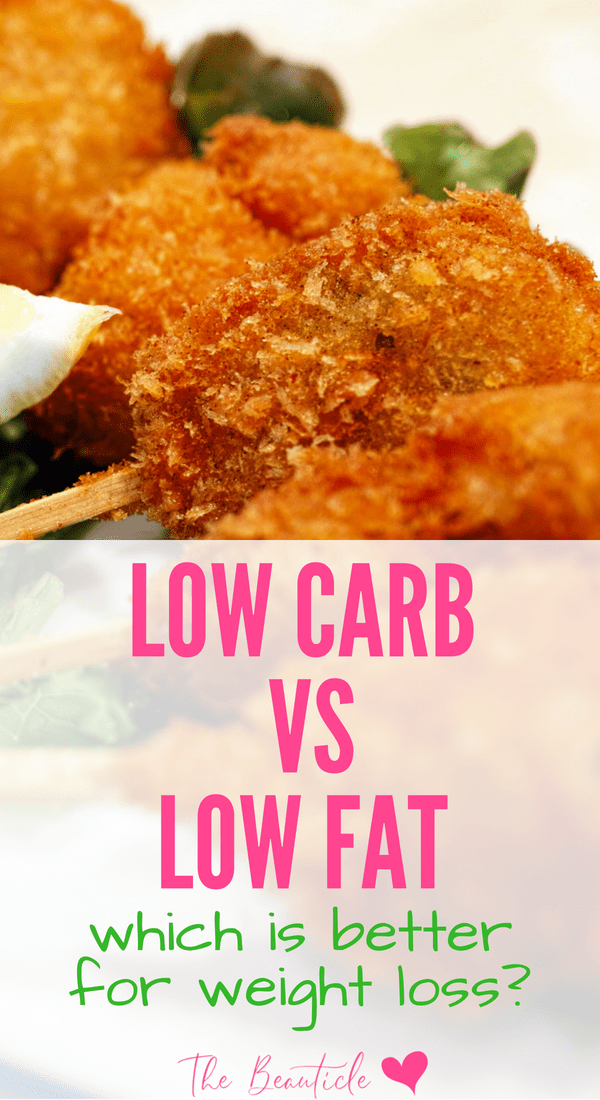 Low carb diet vs low fat diet - which is better for weight loss? Understanding the keto diet and why it's better at losing weight and keeping it off