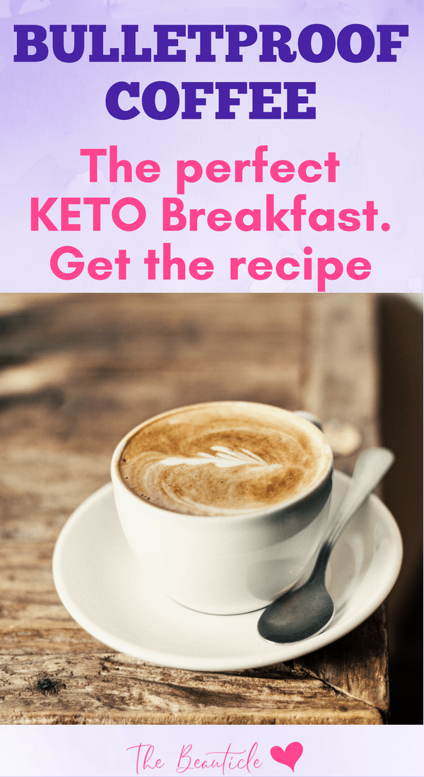 Bulletproof coffee is the perfect ketogenic breakfast. Get the recipe here and learn how to make bulletproof coffee with the very best of ingredients to keep you full and sharp for the entire morning.