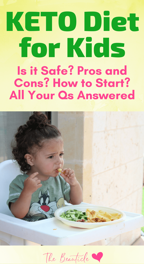 Is there a keto diet for kids? Is a low carb lifestyle safe for children? Find out how to get your child on a healthy low carb lifestyle without limiting their dietary restrictions. #ketodiet