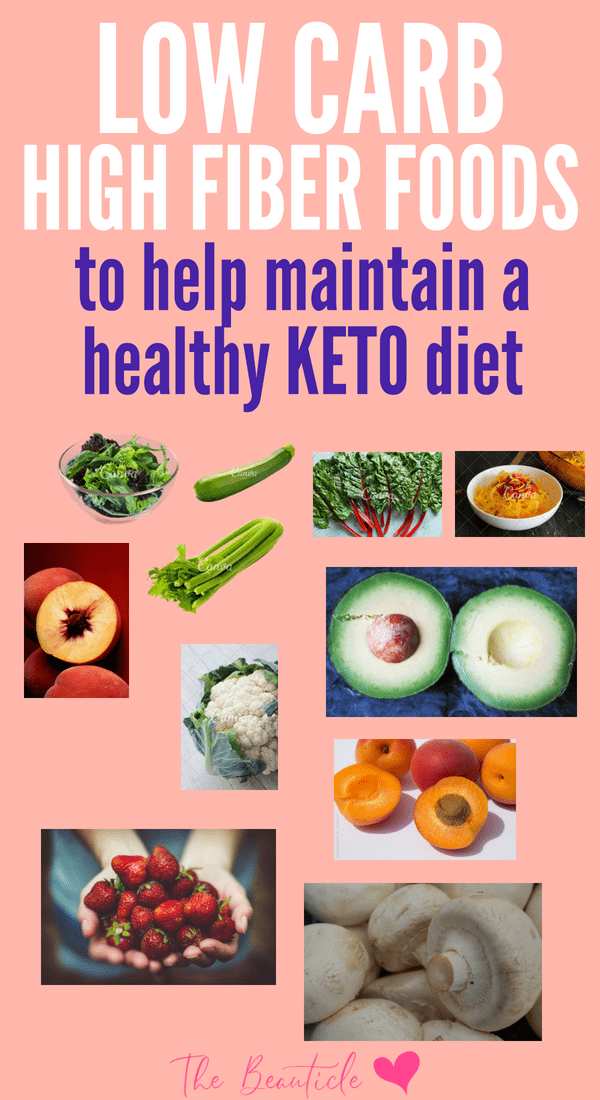 Low carb high fiber foods to eat when on the keto diet to avoid keto flu and chronic inflammation
