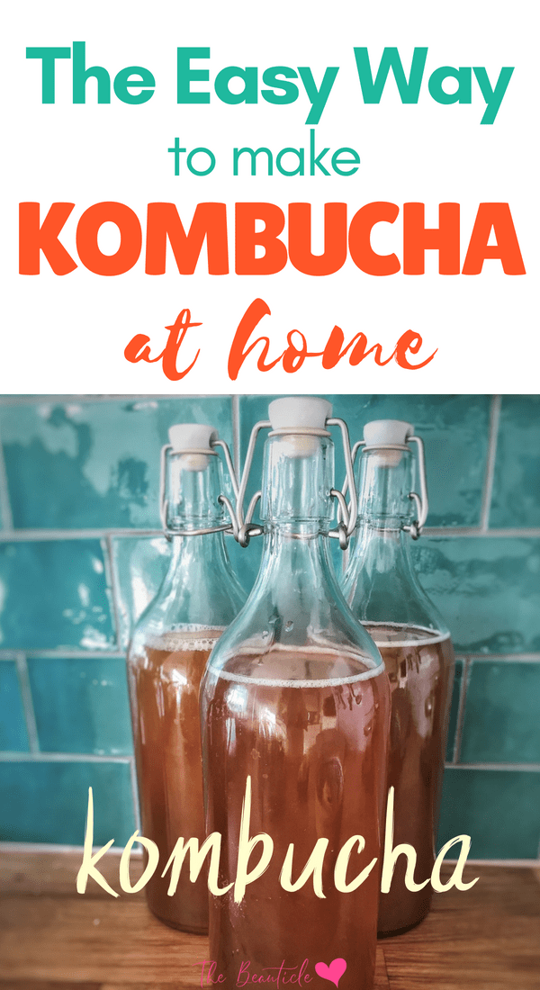 Learn how to make kombucha at home on your own using this incredible kombucha kit that makes it so easy! Get all the health benefits of kombucha and save money making your own fermented tea