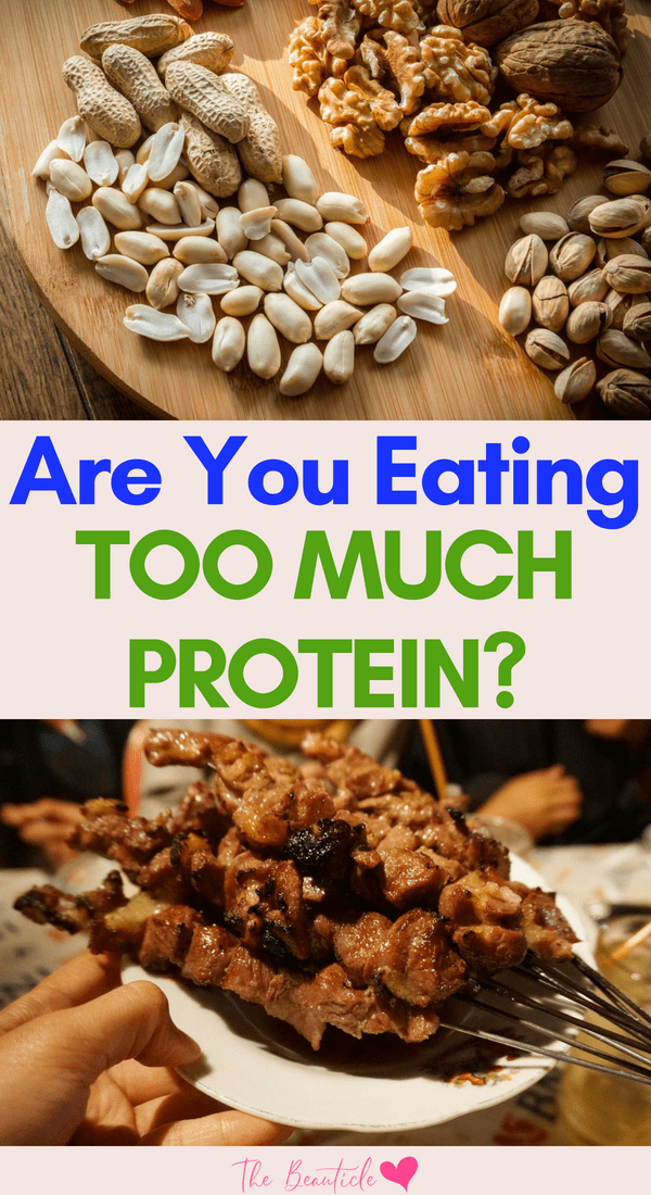 Are you eating too much protein? How much protein is too much? Get ll the protein facts and learn how to maintain a well-balanced diet.