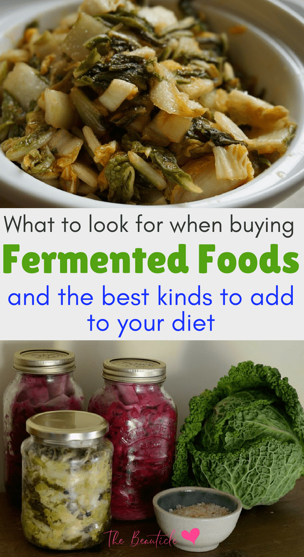List of fermented foods for beginners: Try these store bought fermented foods to get all the health benefits of fermented foods in your diet