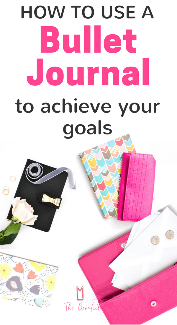 Bullet journal goals: bullet journal ideas for goal setting. Achieve your goals with these bujo tips