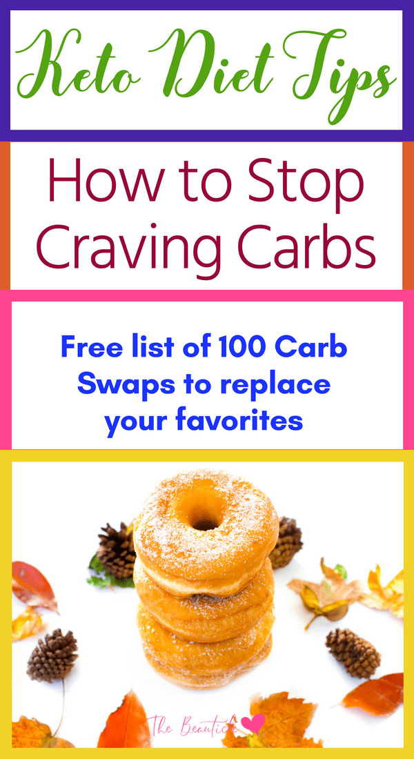 How to stop craving carbs: Enjoy this list of carb replacements and live a low carb life on the keto diet