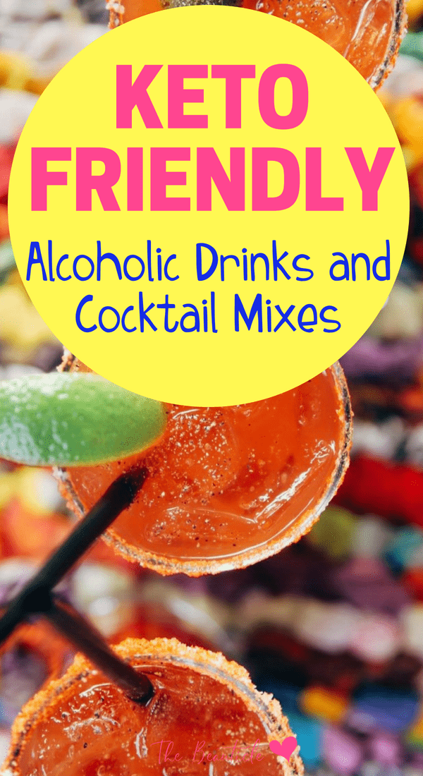Keto cocktail recipes to enjoy keto friendly alcoholic drinks while still losing weight on the ketogenic diet. Keto drinks recipes #keto #lowcarb