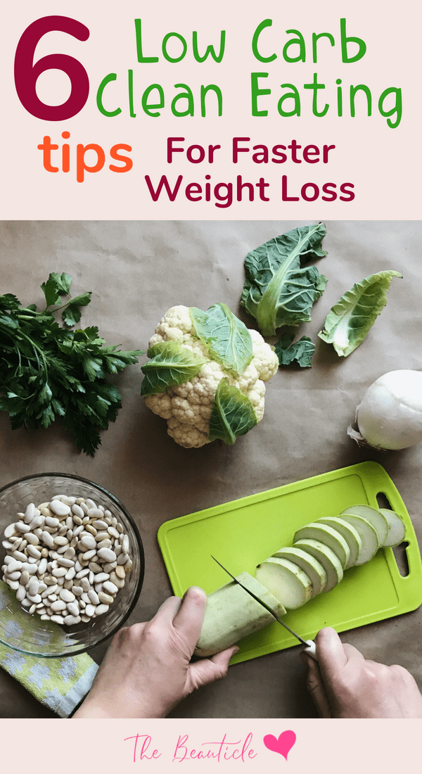 Clean eating tips for those following  low carb diet or a ketogenic diet