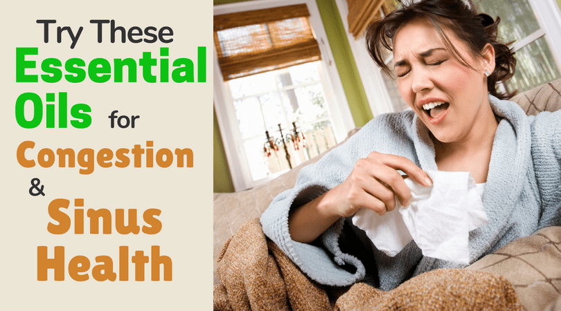 Essential Oils for Congestion and Sinus Health