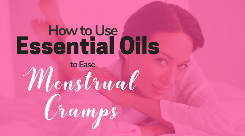 Essential Oils for PMS and Menstrual Cramps