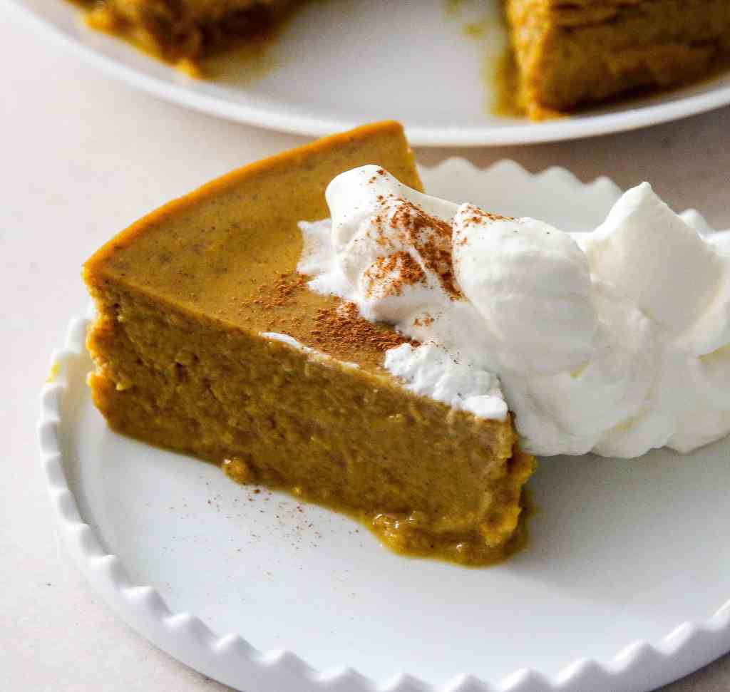 Pressure Cooker Low Carb Keto Pumpkin Pie Pudding