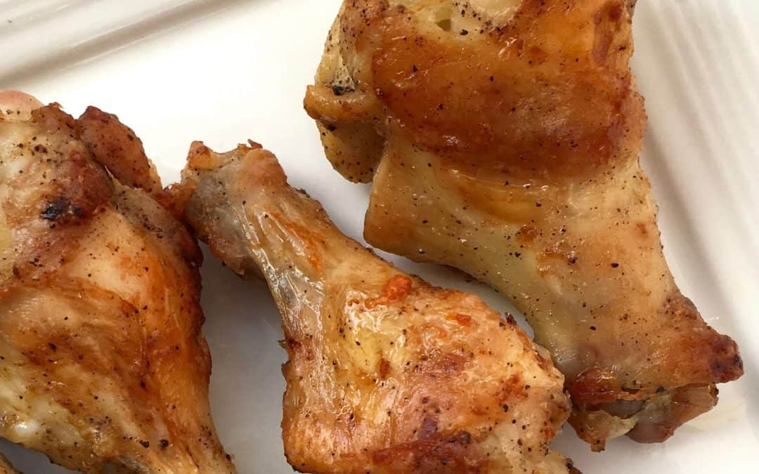 Juicy, Crispy Keto Lemon Pepper Wings Recipe