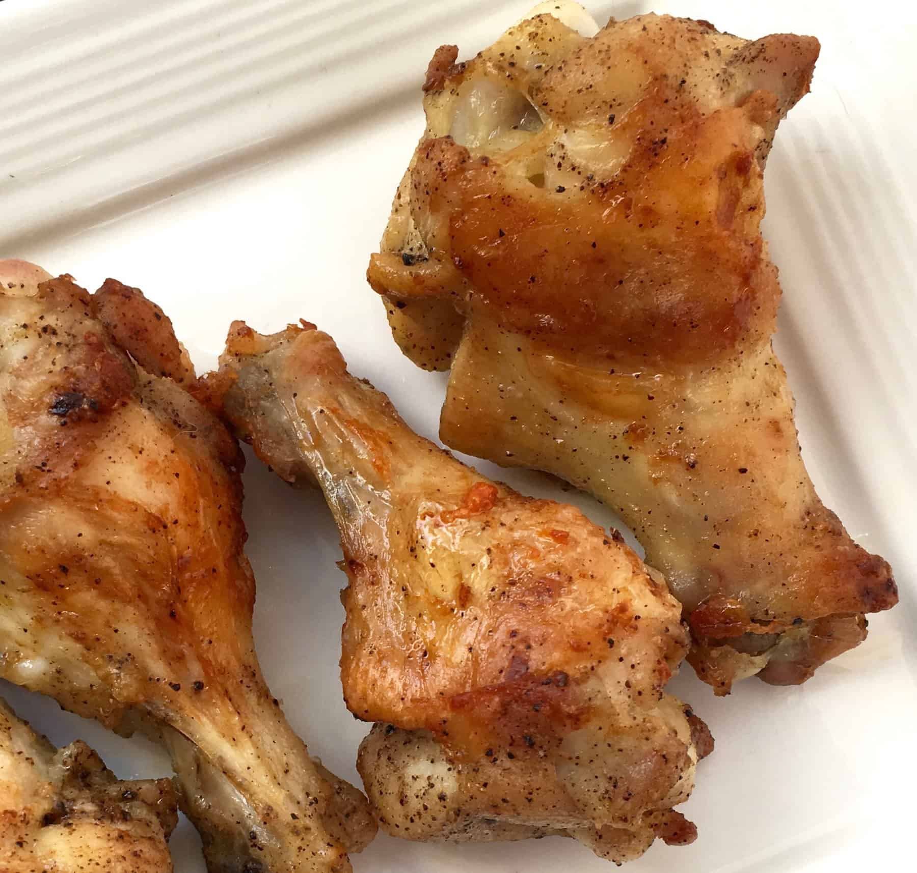 Keto Lemon Pepper Wings recipe