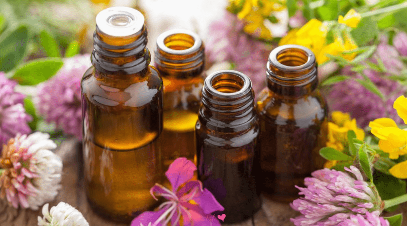 30 essential oils for stress and anxiety with scientific data to prove they work. Make your own blend for essential oils diffusers, massage oils or scented candles. #essentialoils
