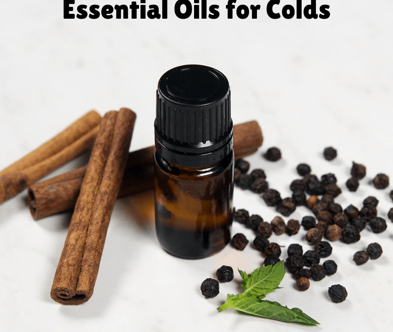 Essential Oils for Congestion: Antiseptic and AntiViral Essential Oils for Colds Diffuser Blends