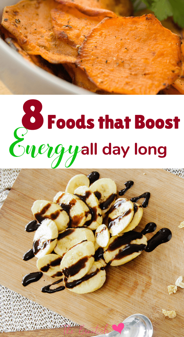 Revitalizing foods that boost energy all day long. Add these food items into your daily meal prep diet for more energy all day without the afternoon crash. #diet #energy #weightloss