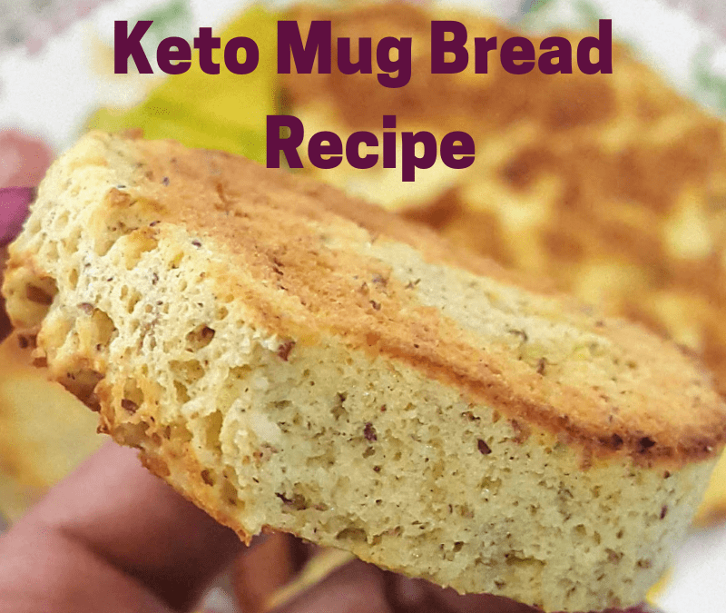 The Best Keto Mug Bread You Can Make in 90 Seconds