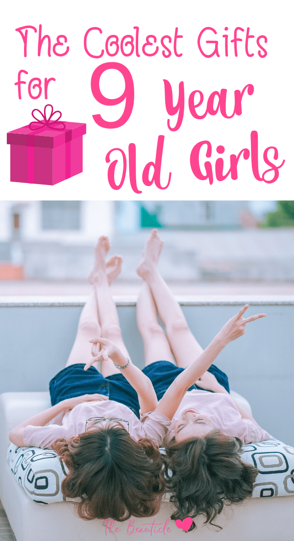 The coolest gifts and toys for 9 year old girls! Get them these toys for birthdays or the holidays and endear them to you forever. Or at least til the next season rolls around. #giftguide #christmas