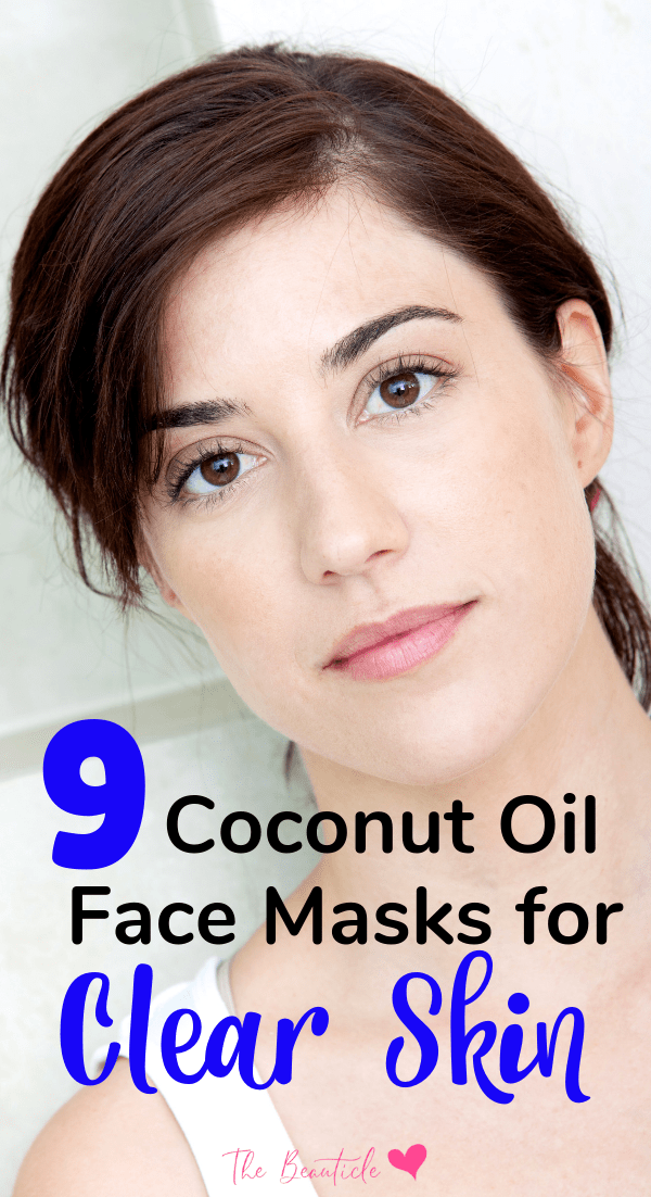 coconut oil face mask