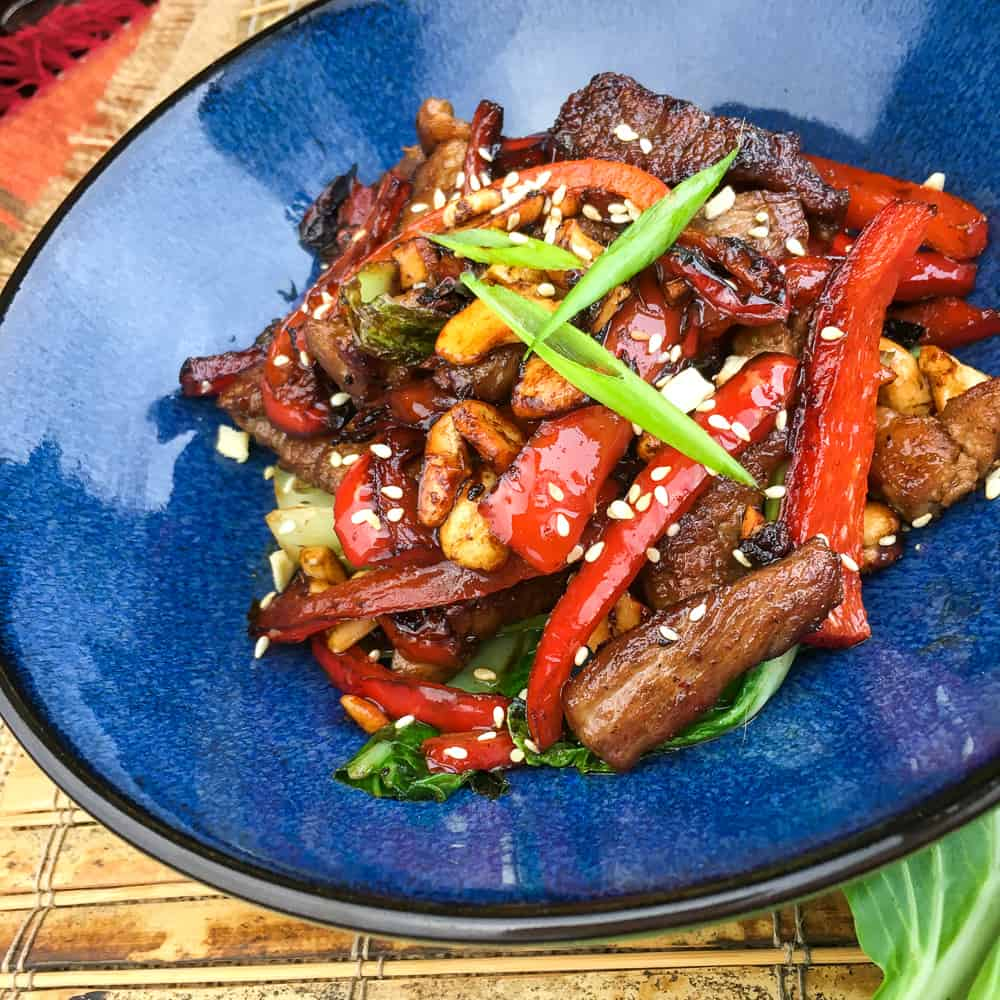 Keto Pork Stir Fry Recipe