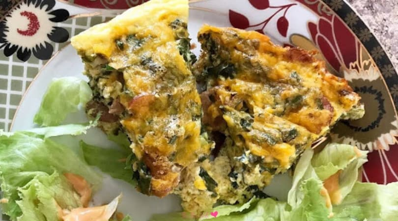 Quick and Easy Keto Breakfast Quiche