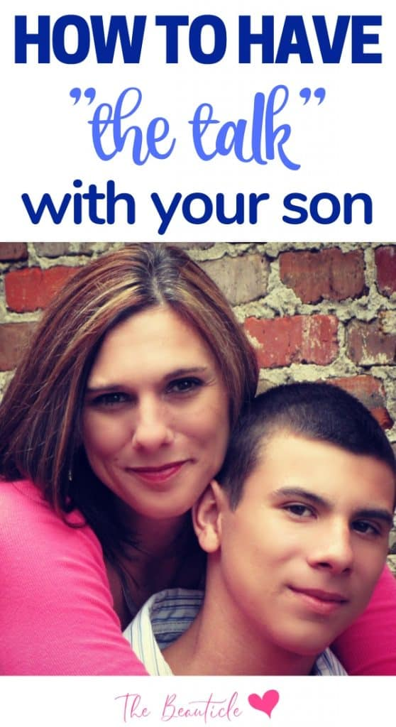 how to have the sex talk with your son