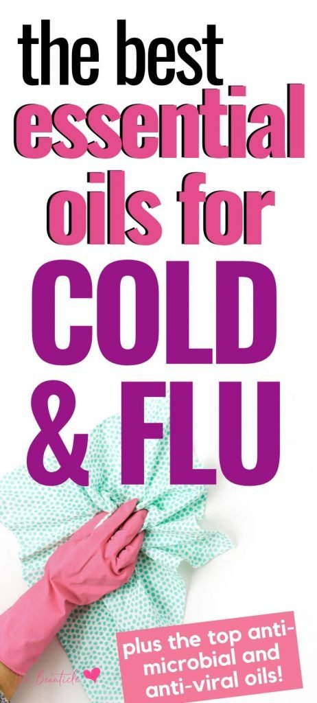 antiviral essential oils for cold and flu