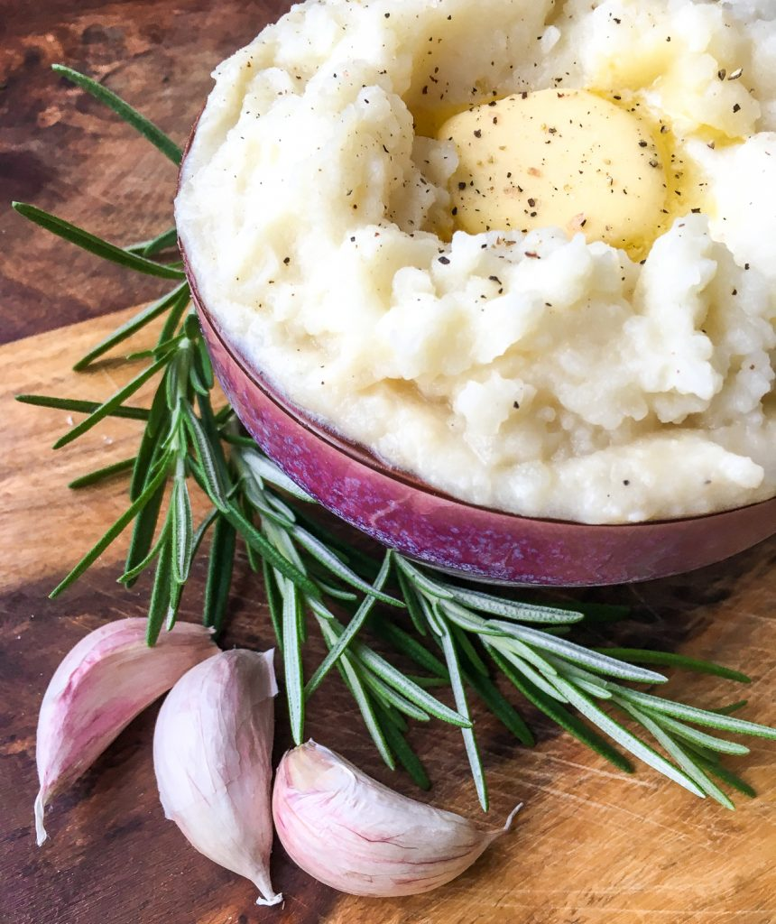 Instant Pot® Rosemary Garlic Mashed Potatoes